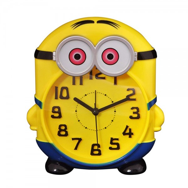 Детски настолен часовник будилник Миньон кварцов механизъм