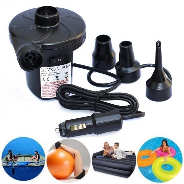 Електрическа помпа за надуване помпа за въздух помпа за дюшеци и матраци 12V