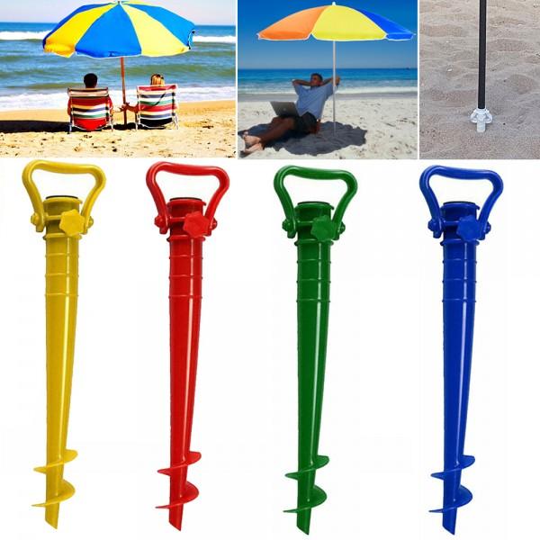 Универсална стойка за плажен чадър свредло за чадър за пясък