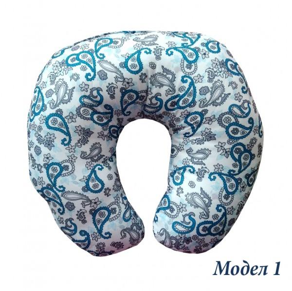 Текстилна възглавничка за пътуване възглавница за път