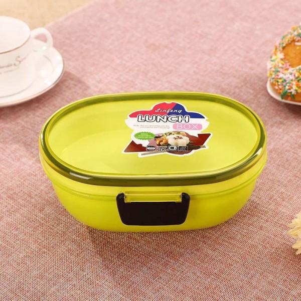 Детска кутия за храна с отделения и лъжичка LUNCH BOX