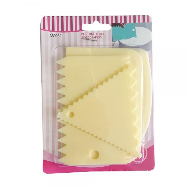 Комплект сладкарски шпатули за декорация и заглаждане на торти 4 броя