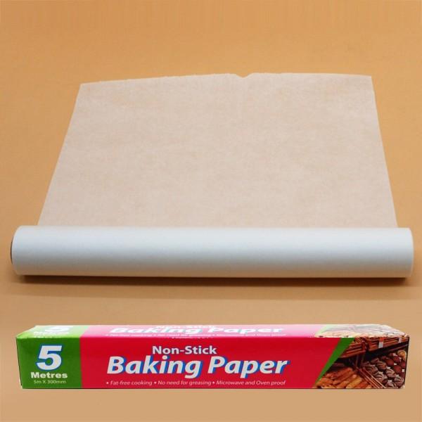 Кухненска хартия за печене 5 метра x 30 см незалепваща