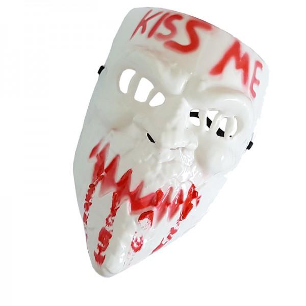 Страшна Halloween маска Kiss me парти маска за Хелоуин