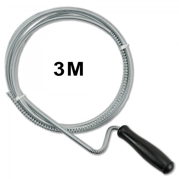 Пружина за отпушване на канали и тръби 3м и 1.5м