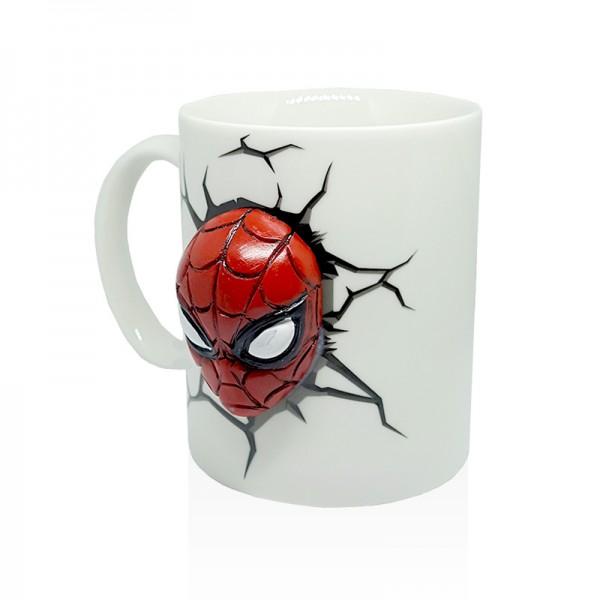 Керамична 3D чаша Спайдърмен Avengers infinity war 250ml
