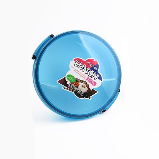 Детска кутия за обяд с две отделения и лъжичка LUNCH BOX кръгла