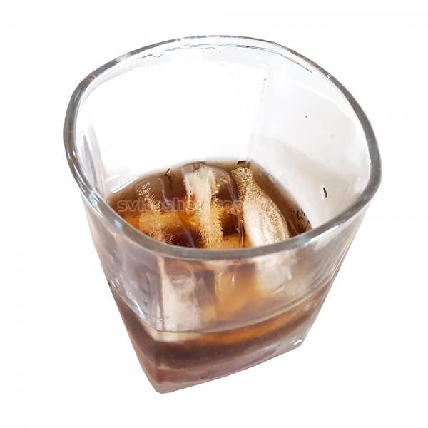 Пластмасова форма за лед с капак бутилки Coca Cola 9 гнезда
