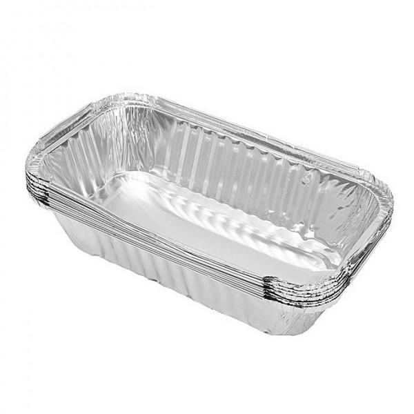 Алуминиева форма за печене правоъгълна за еднократна употреба