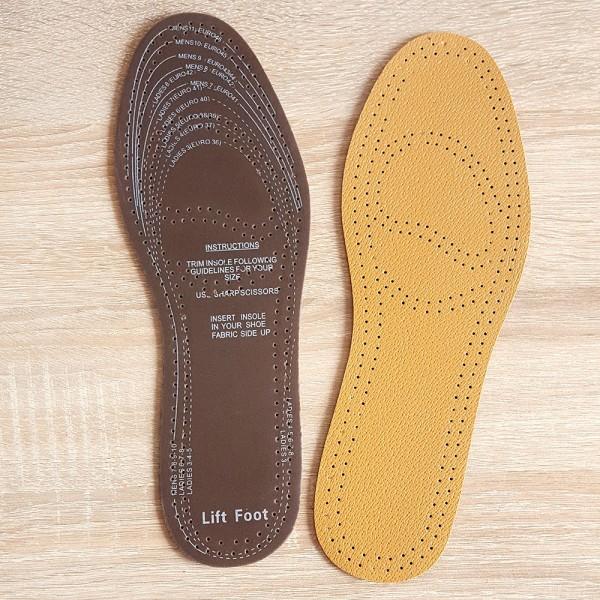 Антибактериални стелки за обувки изкуствена кожа 36-46 номер