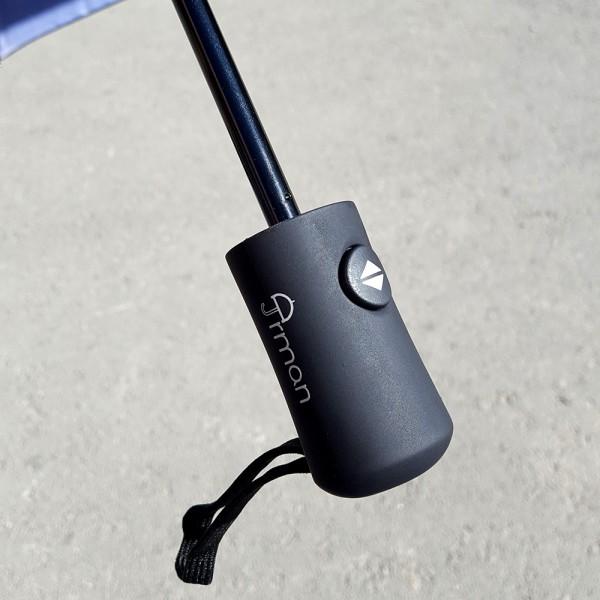 Сгъваем автоматичен чадър за дъжд стил Париж 97см диаметър
