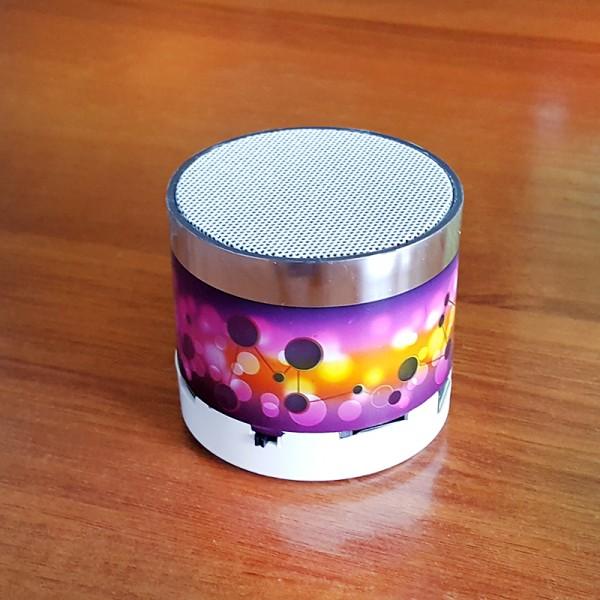 Светеща мини блутут колонка мини bluetooth speaker