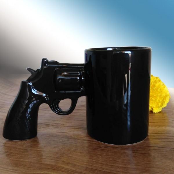 Забавна чаша с нестандартна дръжка подарък за мъж