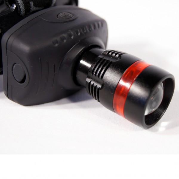 Фенер за глава челник със ZOOM функция, 3 режима на светене
