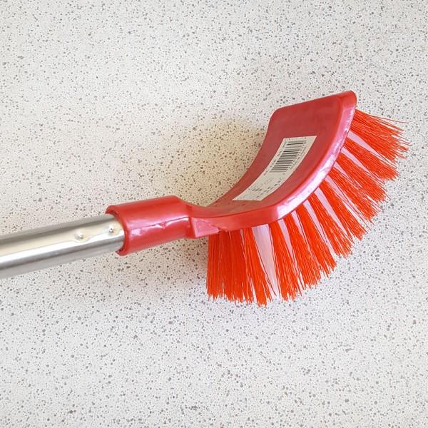 Четка за почистване с дълга дръжка 52см