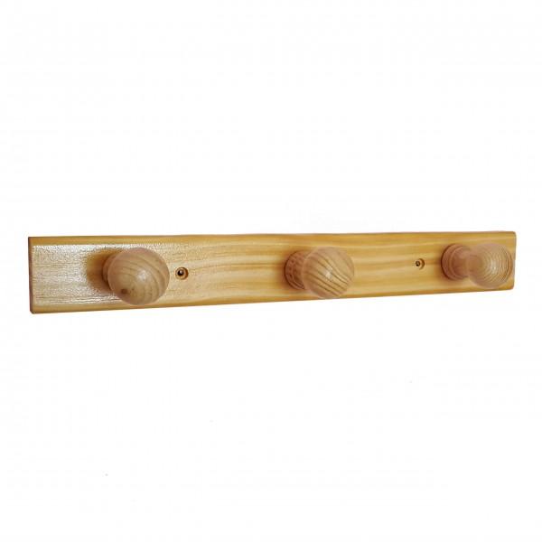 Масивна дървена закачалка за дрехи закачалка за стена