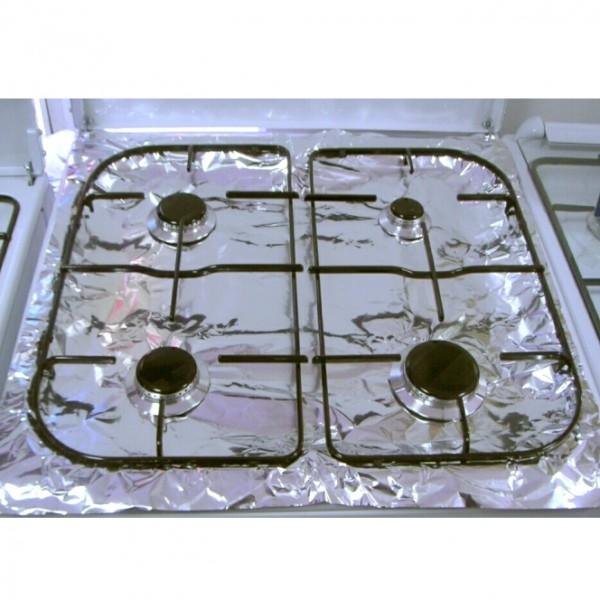 Алуминиево фолио за газов котлон протектор фолио за газови печки