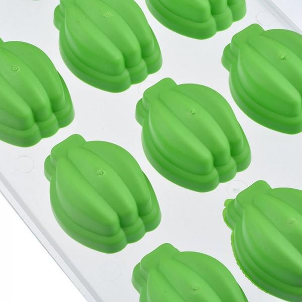 Форми за лед със силиконово дъно Банани формички за лед и декорация