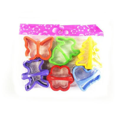 Формички за дребни сладки комплект от 6 броя резци за бисквити курабийки