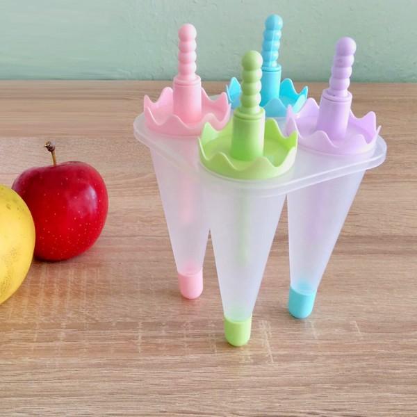 Форми за сладолед на клечка Чадърчета формички за ледени близалки