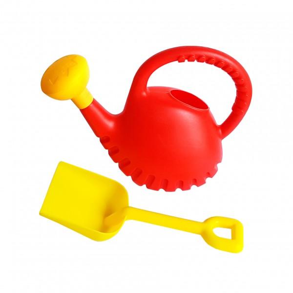 Плажни играчки лейка с лопатка за пясък