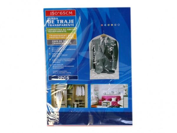 Прозрачен калъф за дрехи найлонова торба за съхранение на костюм рокля сако