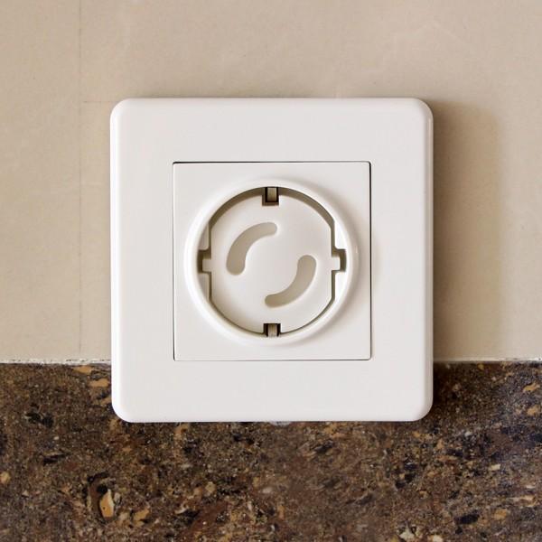 Защитна капачка за контакт 4 бр в комплект тапи предпазители за контакти