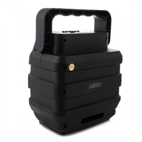 Блутут тонколона с вход за микрофон Bluetooth speaker USB FM SD AUX LED