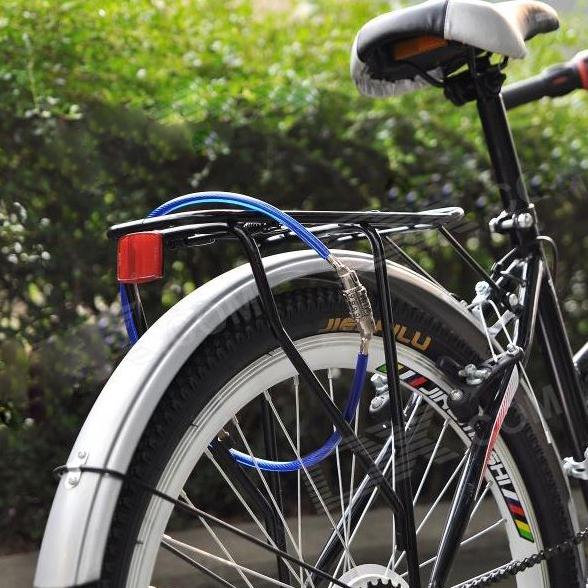 Катинар за велосипед с 4 цифрен код 7x86cm