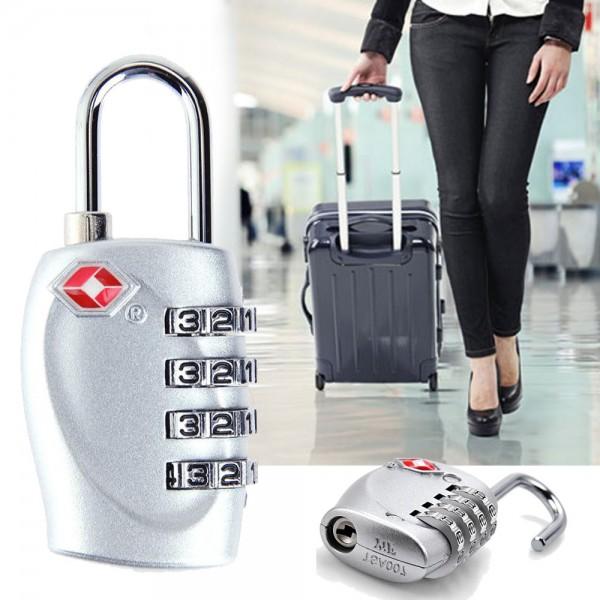Катинар с 4 цифрен код за багаж катинар с шифър за куфари раници сакове