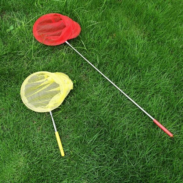 Голямо кепче с телескопична дръжка за ловене на пеперуди или риболов