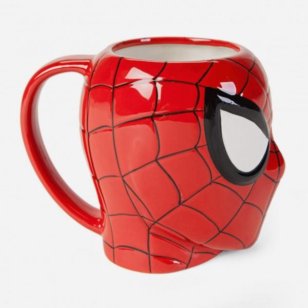 Керамична чаша Спайдърмен подаръчна чаша Spiderman Marvel Advengers