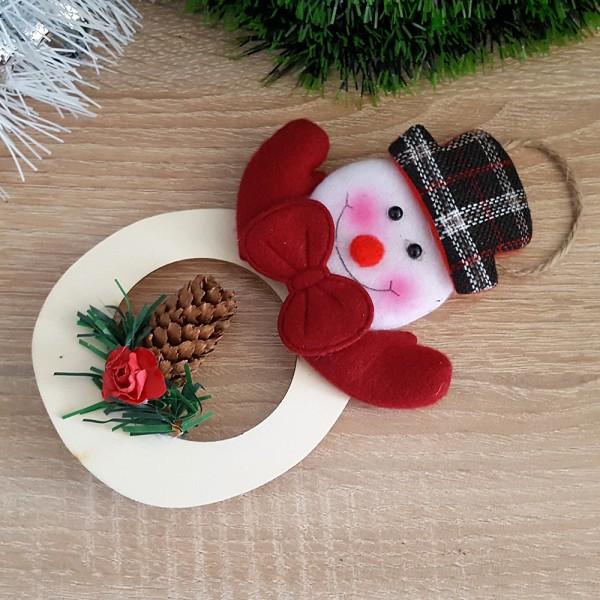 Коледна украса за окачване Еленче или Снежен човек