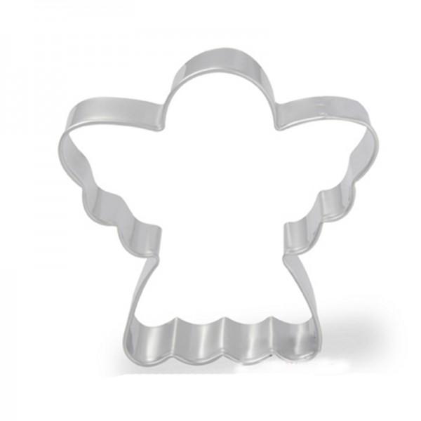 Форми за коледни сладки Ангел резци за курабии бисквити фондан 3 размера