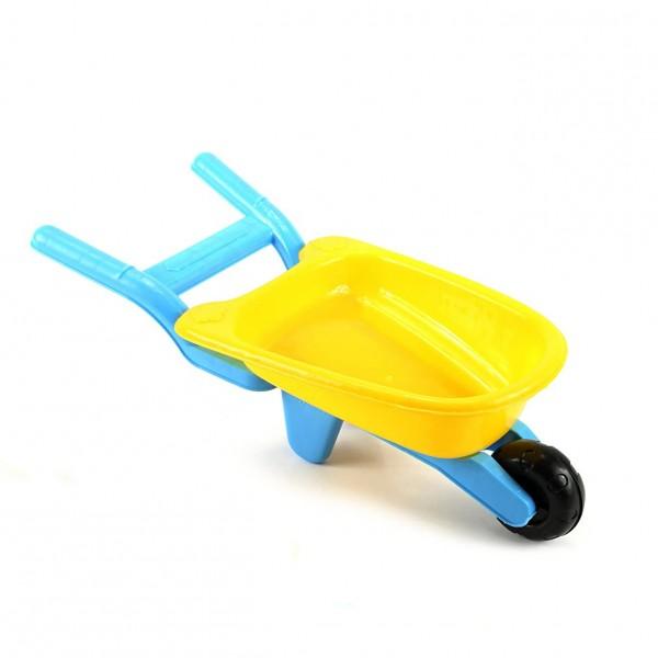 Голяма лопатка за пясък, цветна и ярка. Идеална за игри на плажа или на пясъчника. Удобна дръжка за захващане.