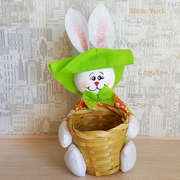 Декоративна поставка за великденски яйца Зайче