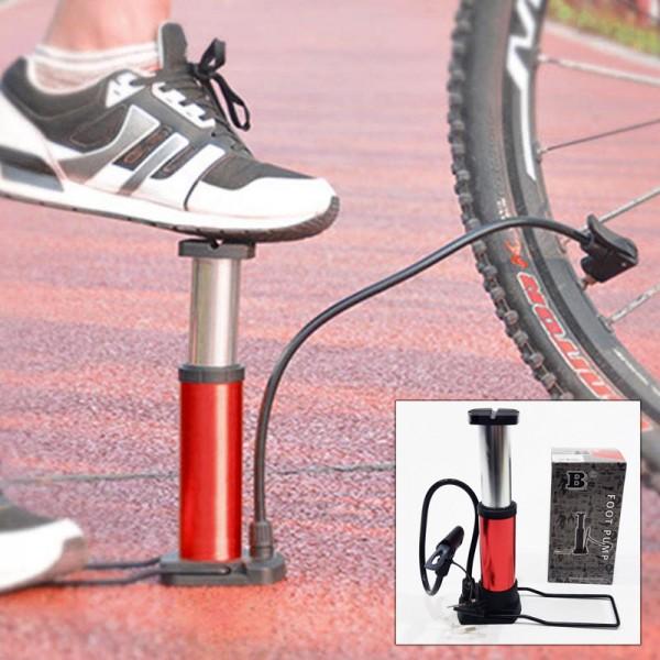 Крачна помпа за надуване на велосипедни гуми и спортни топки