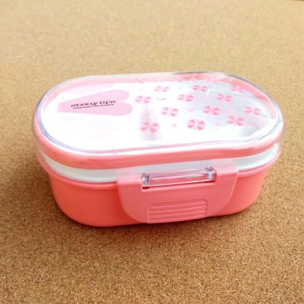 Детска кутия за храна с отделения кутия за обяд с лъжичка