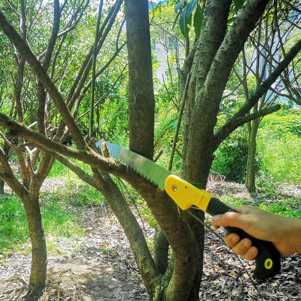 Градински сгъваем трион овощарски трион къмпинг инструмент