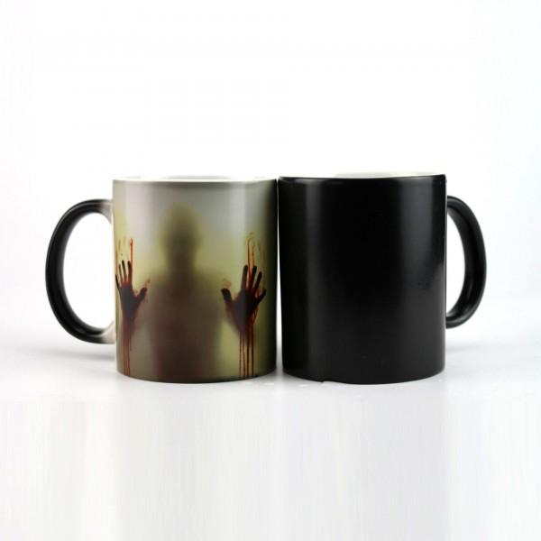 Магическа чаша Зомби подаръчна чаша за чай The walking dead 300ml