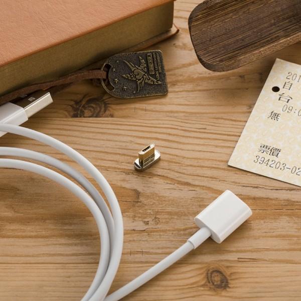Магнитно зарядно MICRO USB кабел за зареждане на телефони