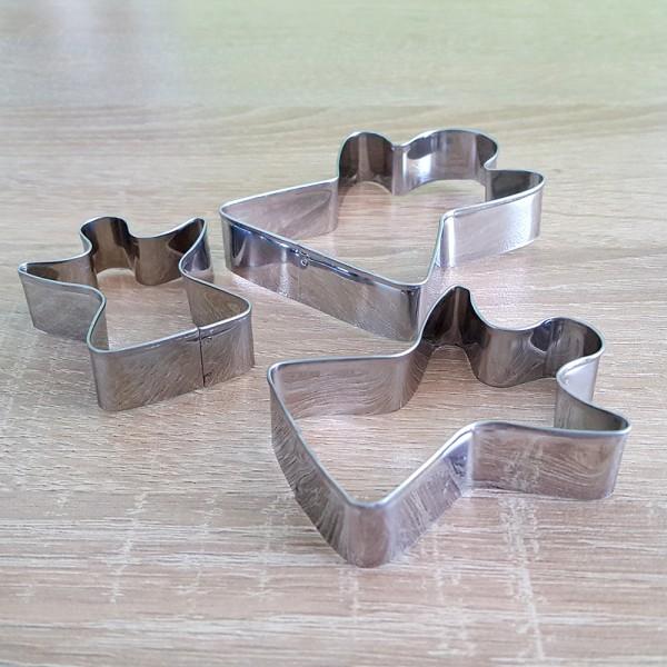 Метални резци за сладки Момиченце комплект от 3 броя формички