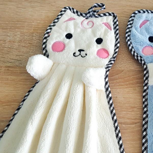 Микрофибърна кърпа за ръце Котета кухненска кърпа детска хавлия