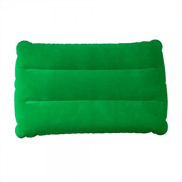 Надуваема възглавничка за плаж къмпинг пътуване двулицева велур