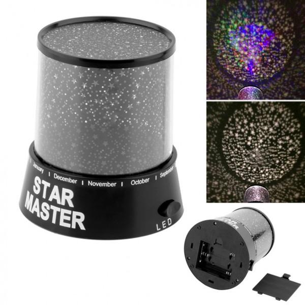 Звездна нощна лампа STAR MASTER Звездно небе Led лампа със звезди