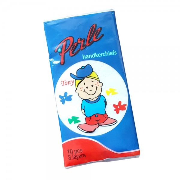 Носни кърпички Perle, трипластови