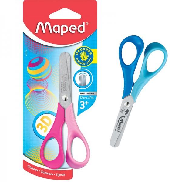 Ученическа ножичка за лява ръка Maped 12cm
