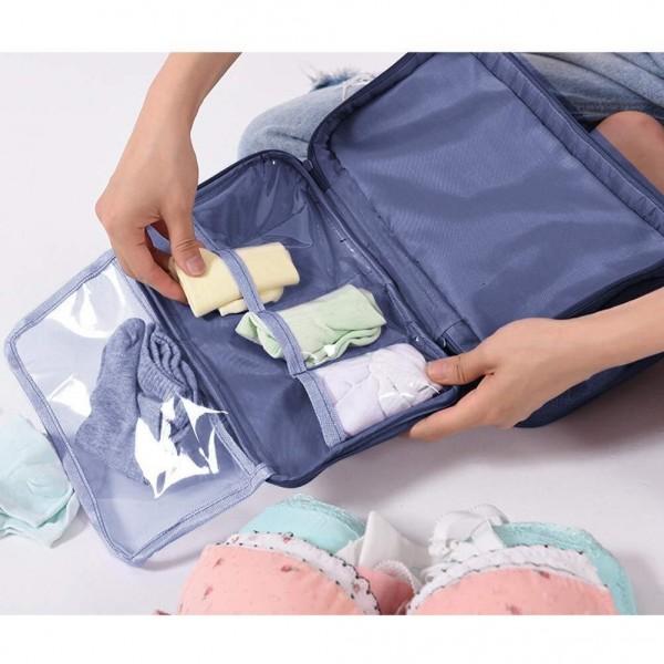 Органайзер за бельо несесер за пътуване чанта за сутиени с много отделения