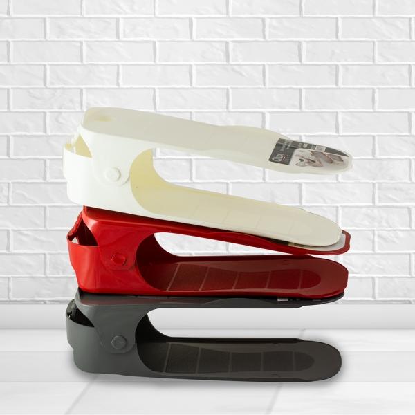 Пластмасов регулируем органайзер за обувки платформа за чифт обувки