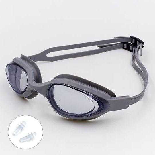 Очила за плуване с UV защита тапи за уши и калъф плувни очила SAILTO